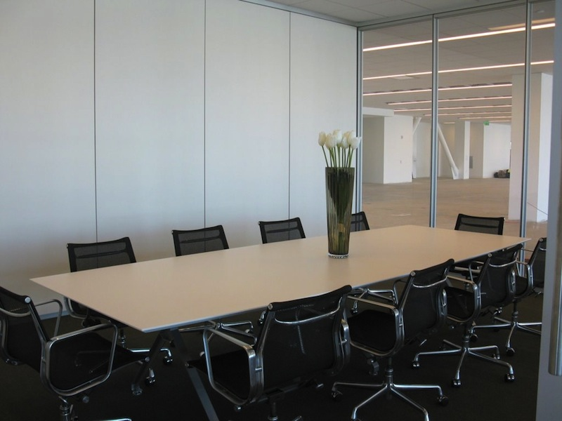 Conference Rooms - D shaped conference table