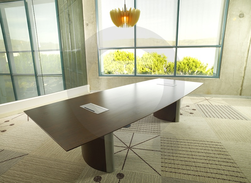 Conference Rooms - Elliptical conference table